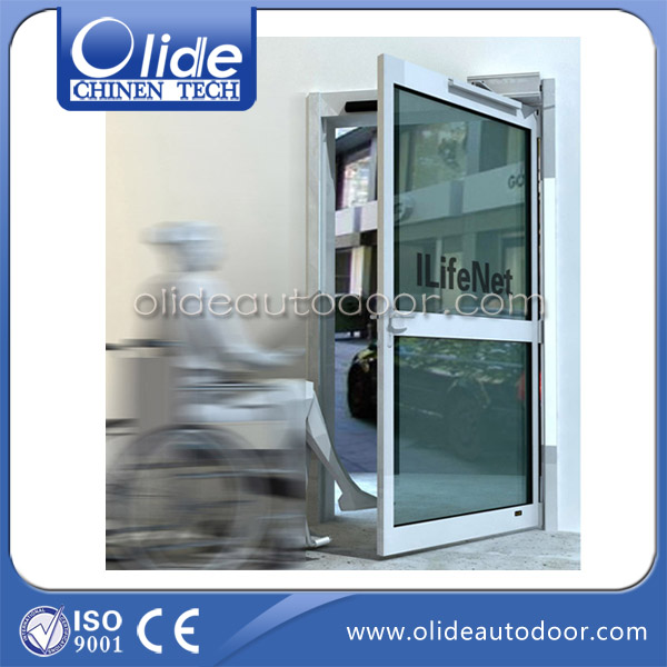 Auto door for disabled, electric auto door mechanism