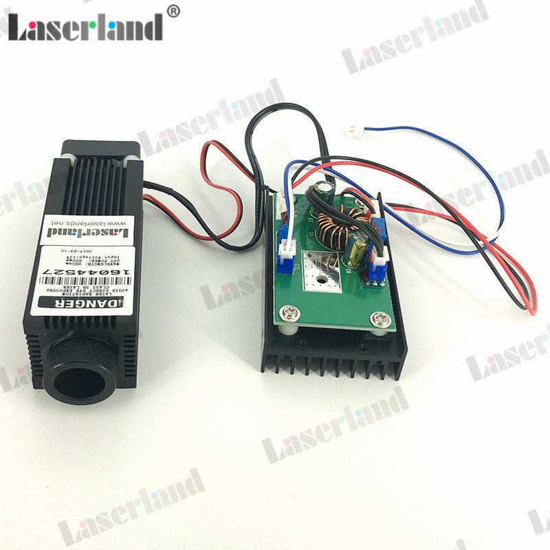 Focusable 800mW 808nm 810nm IR Infrared Laser Dot Diode Module high quality 500mw 808nm 810nm ir laser module focusable infrared module with ttl driver board dc 12v input