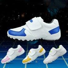 CRESTGOLF прочная детская обувь для гольфа кроссовки мягкие дышащие туфли детская обувь для гольфа уличная спортивная Беговая противоскользящая обувь