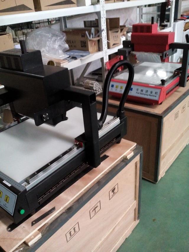Stampatrice a caldo digitale senza platino / macchina per stampa a - Attrezzature per la lavorazione del legno - Fotografia 1