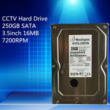 """250 GB de DISCO DURO SATA de 3.5 """"CCTV de Seguridad de Nivel Empresarial Hard Drive Garantía de $ number año"""