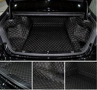 NEW Full Rear Trunk Tray Liner Cargo Mat Floor Protector foot pad mats for BMW 730 740 750 7 series 2016 2017 2018 (6colors)