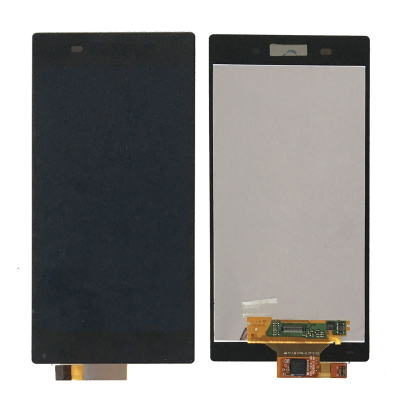 New Touch Screen Digitizer Lcd Display Assembly For Sony Xperia Z1 L39h C6902 C6903 C6906 1 pcs l39h black lcd display touch screen digitizer assembly for sony xperia z1 l39h c6902 c6903 free shipping
