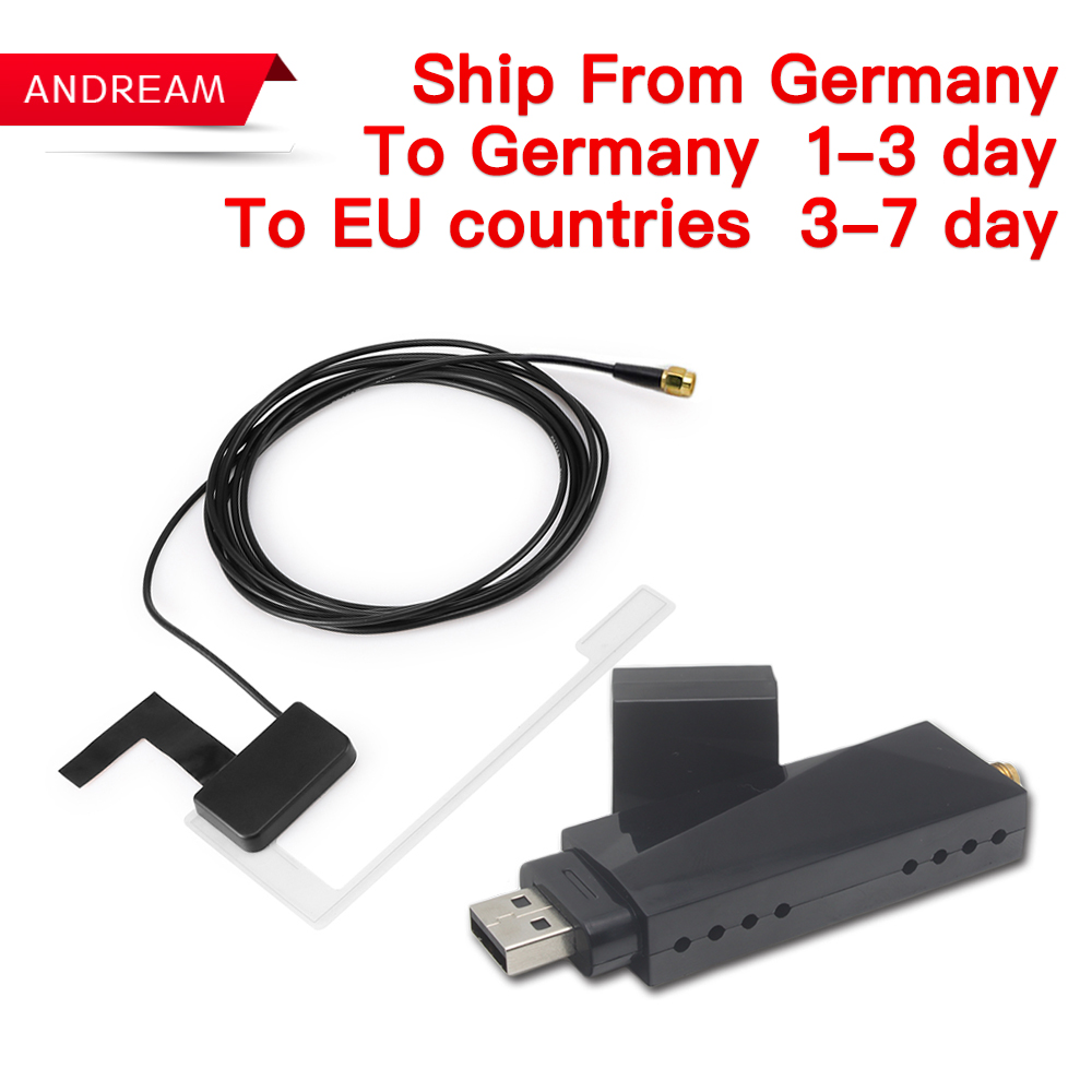 Car DAB+ Tuner/Box for Android Car DVD USB Digital Audio Broadcasting Receiver with Antenna Works for Europe android ...
