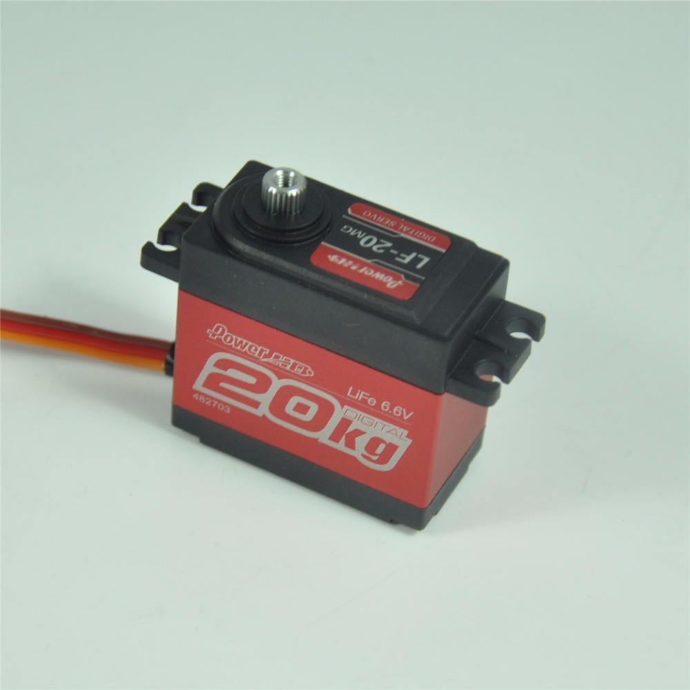 LF-20MG Standard Digital High Torque Servo For RC Cars Airplane amazing high torque and high end servo fast powerfull waterproof ideally designed to use in r c cars