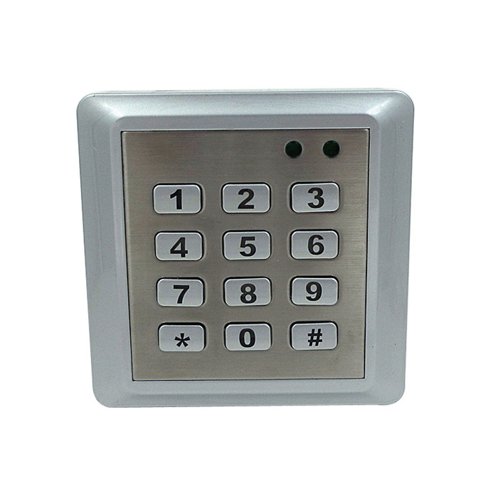 Waterproof Door Access Controller Reader RFID 125KHZ Metal Keypad Single Tamper Alarm 2000 Users lpsecurity 125khz id em or 13 56mhz rfid metal door lock access controller with digital backlit keypad ip65 waterproof