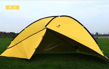 Hillman 3 Walls 480*480*200CM high quality waterproof camping outdoor sun shelter camping tent large awning