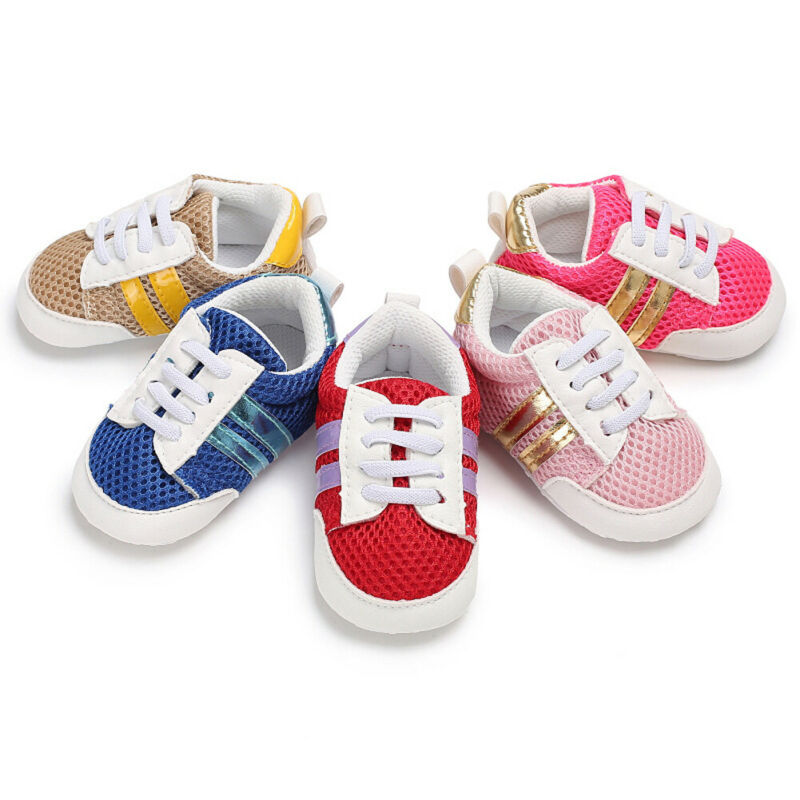 All Seasons Infant Boys Girls Child Sports Sneaker Shoe Baby Toddler Kid Casual Shoes 0-18months