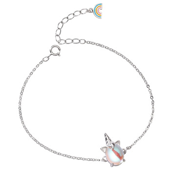 Bracelet Pierre De Lune Argent