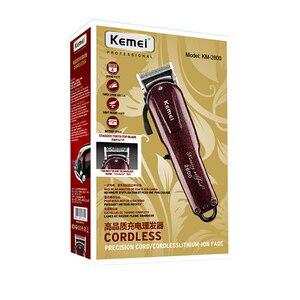 Image 5 - Maquinilla de afeitar eléctrica lavable para hombre y bebé, afeitadora recargable de 220V 110V, recortadora de barba inalámbrica para km 2600, Máquina para cortar cabello