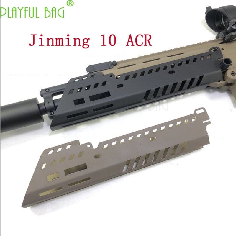 Outdoor Activity CS [Fishbone, ACR Upgrade Material Of Jinming 10th Generation] Assembly Appearance KEY Guide MLOK QJ02