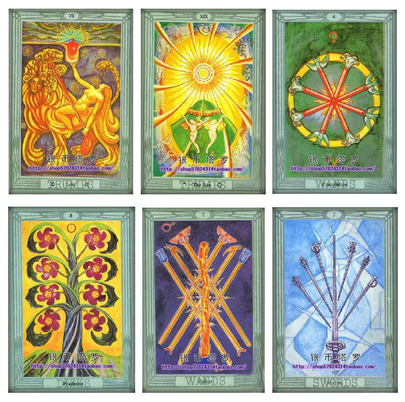 Aleister Crowley Thoth Tarot card imported made in USA