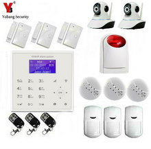 YobangSecurity WIFI GSM Wireless Home Security System Kit Easy to Install Security Alarm System IOS Android Video IP Camera