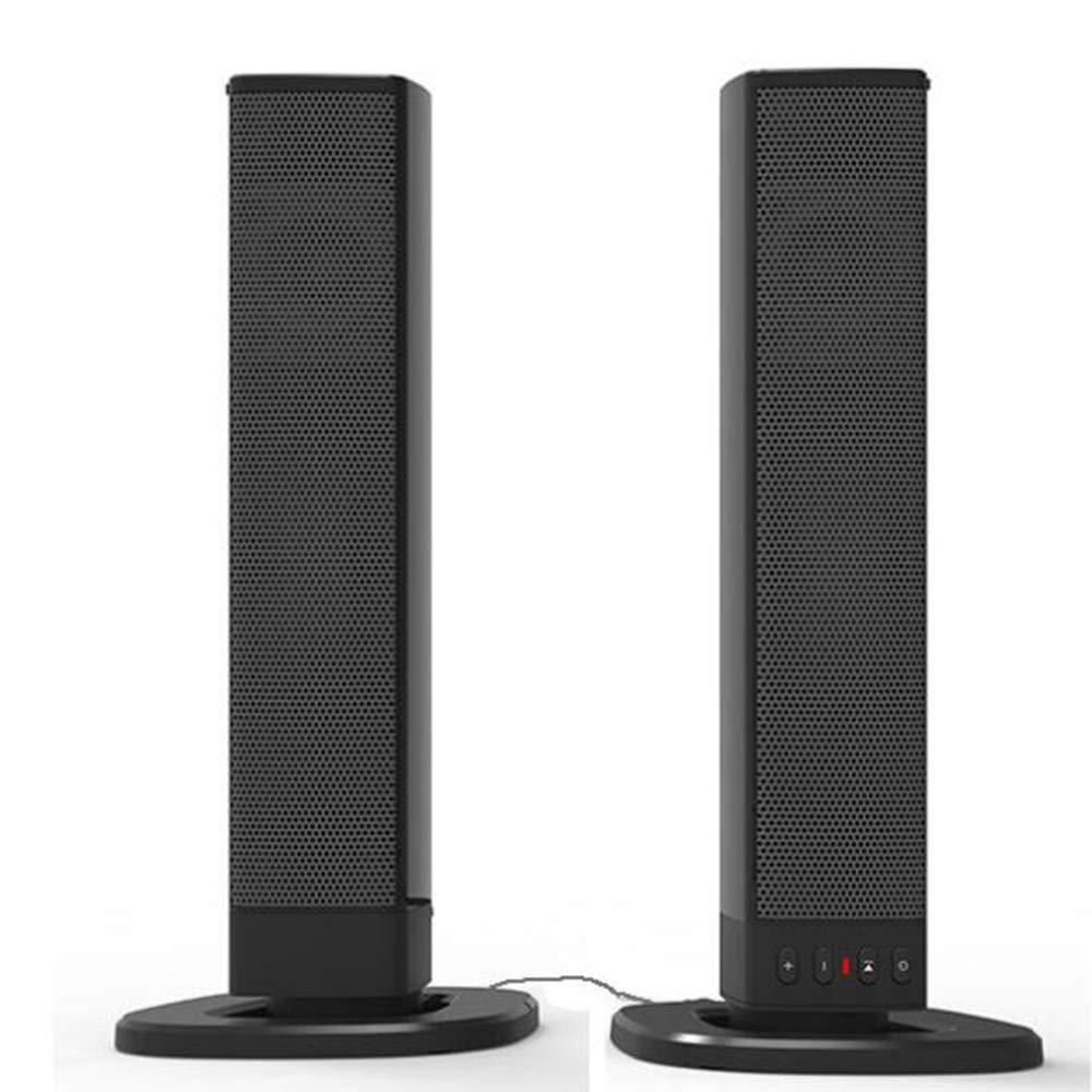 Soundbar TV Sound Bar Wired & Wireless Sound Speaker, Detachable Soundbar Home Theater Dual Connection Methods For TV Smartphone