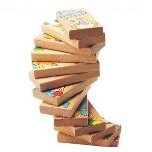 15 հատ Ընտանեկան Խաղալիքներ Փայտ - Կառուցողական խաղեր - Լուսանկար 3