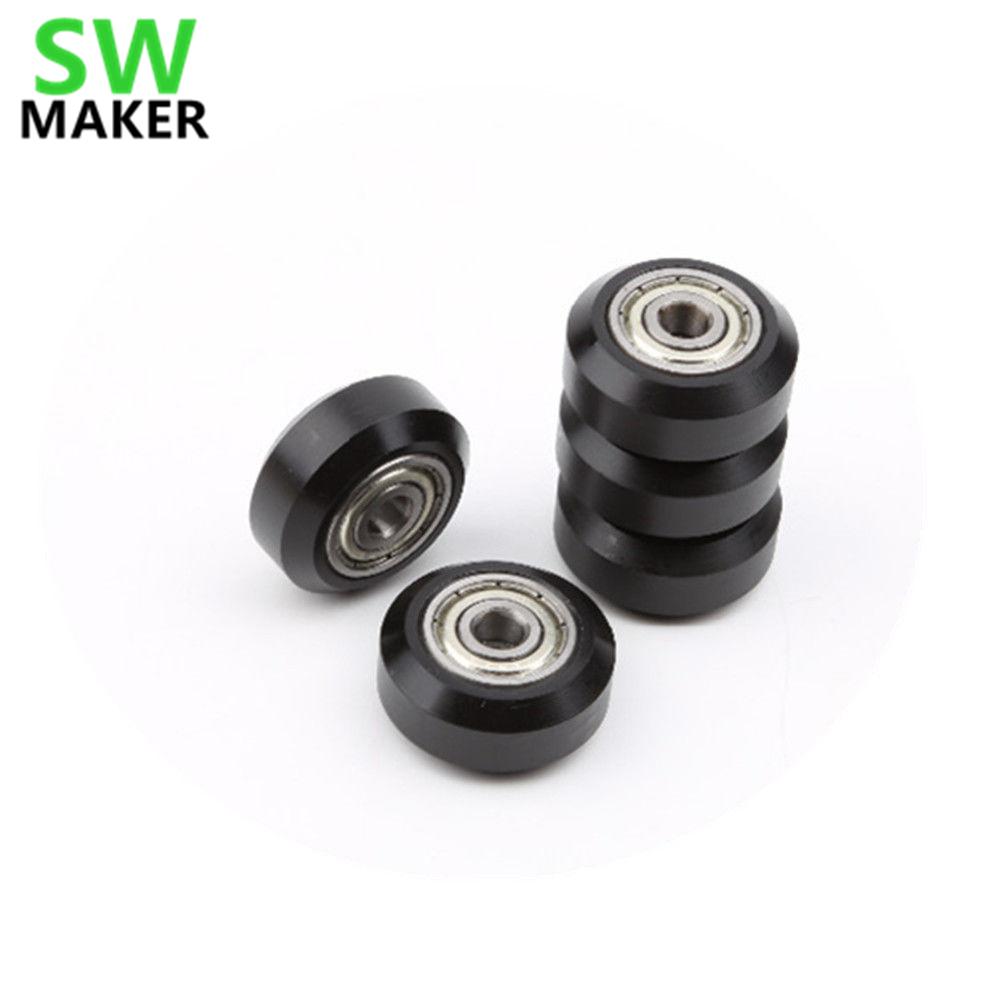 SWMAKER 1pcs Wheel Pulley Deep Groove Ball Bearing For TEVO Or Creality 3D Printer CR-10 CR-10S Ender-3 / 3s