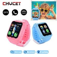 Горячие Водонепроницаемый дети K3 дети умные часы GPS A GPS фунтов Безопасная анти-потерянный SmartWatch С Камера sim-вызов местоположение устройства трекер