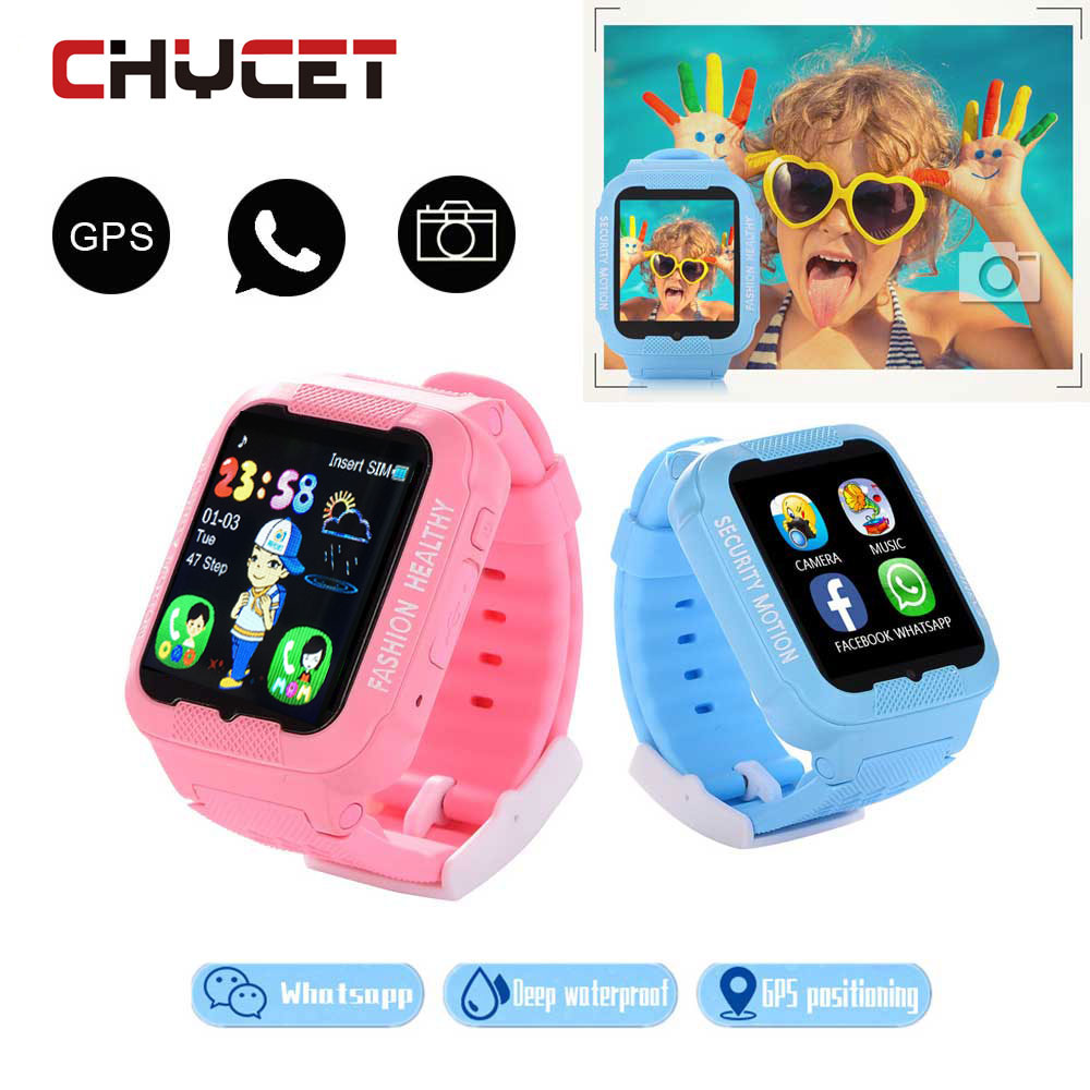Waterproof Kids K3 Smart Watch GPS AGPS LBS Location Safe Anti-Lost Smartwatch with Camera SIM Card Device Tracker for children smart kids child watch baby safe anti lost smartwatch gps remote monitor with sim tf location tracker whatsapp facebook device