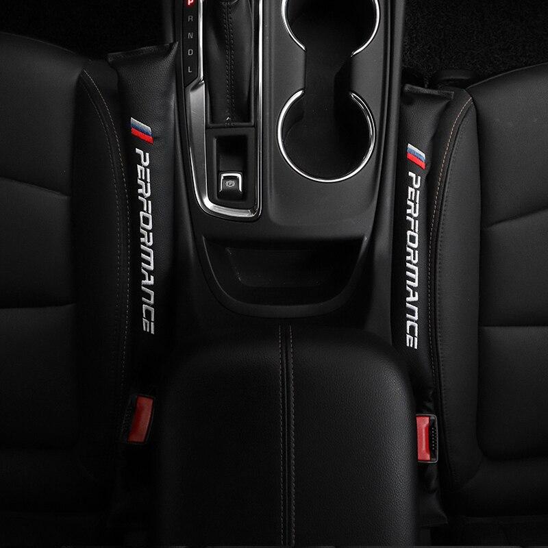 2X Assento de Carro Gap Filler Espaçador Pad Adesivos Para BMW M E46 E39 E38 E90 E60 E36 F30 F30 E34 f10 F20 E92 E38 E91 X5 E53 Acessórios