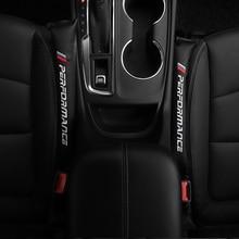 цена на 2X Car Seat Gap Spacer Filler Pad Stickers For BMW M E46 E39 E38 E90 E60 E36 F30 F30 E34 F10 F20 E92 E38 E91 X5 E53 Accessories