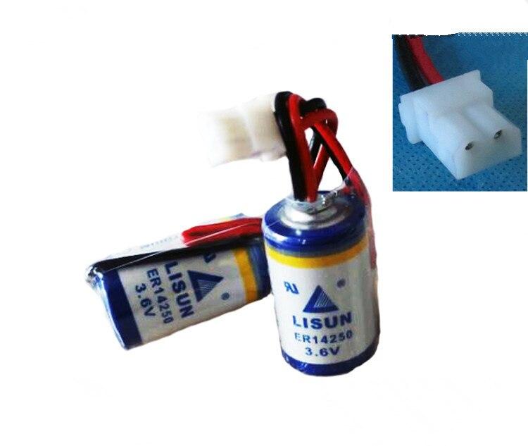5pack LISUN LISUN 1 / 2AA ER14250 3.6V lithium battery