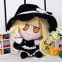 Фотография Touhou Project Hakurei Reimu Kirisame Marisa COS Plush Doll Toy Cute Cosplay Props Soft  Stuffed Animal Gift Movie TV