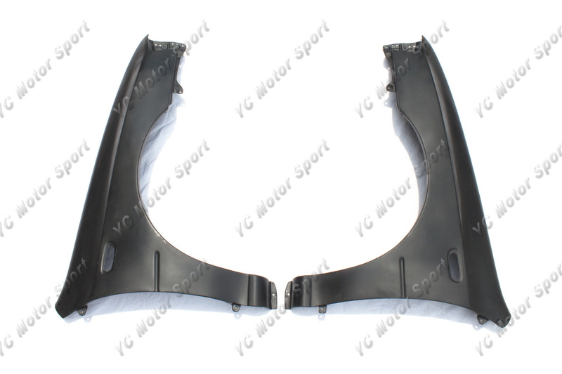 59c191663 Car Accessories FRP Fiber Glass +15mm Wider Front Fender Fit For 1998-2001  Impreza