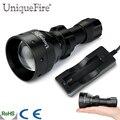 UniqueFire 1503 Модернизированный T50 Масштабируемые LED Фонарик Факел ИК 940nm 50 мм Объектив 3 Режимов Питания По 3 Вт Водонепроницаемый Свет Лампы + зарядное устройство