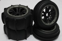 sand wheel completed set with posion rim for HPI KM ROVAN BAJA 5B