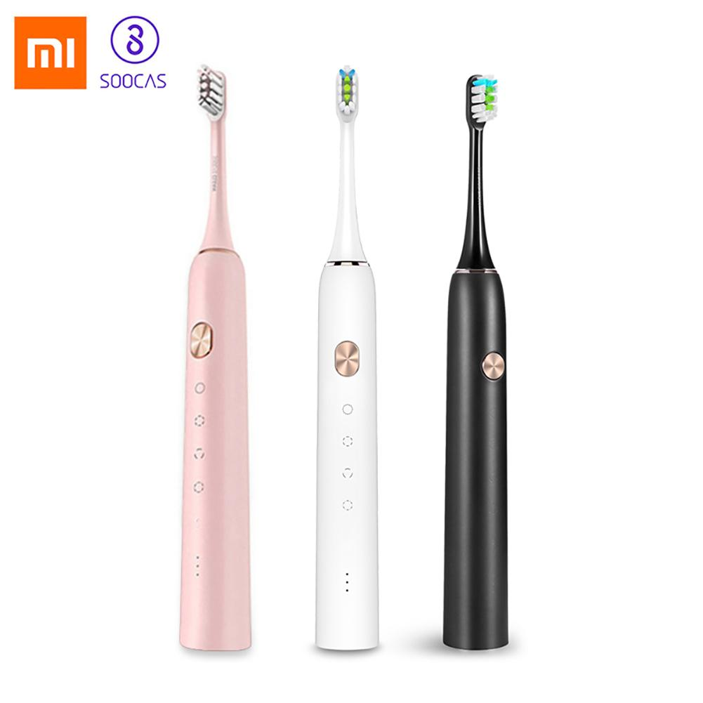 Xiaomi Soocas X3 Waterproof USB Rechargeable Electric  Ultrasonic Toothbrush Xiaomi Soocas X3 Waterproof USB Rechargeable Electric  Ultrasonic Toothbrush