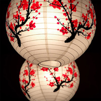 Paper Lantern Traditional Chinese Festival Japanese Sushi Shop LED Paper Lantern Holiday Decor Home Light Decoration Accessories