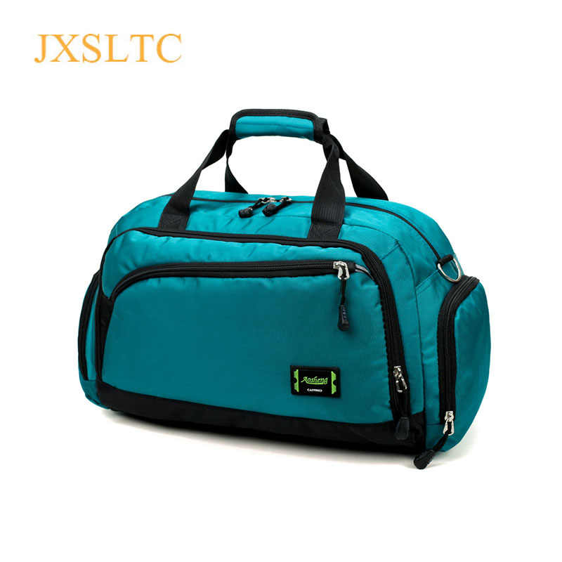 Hot Waterproof Nylon Travel Handbag Men Fashion Carry On Weekend Bags Vintage casual Duffel Shoulder Bags women Overnight Bag
