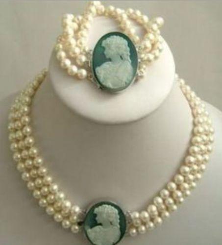 Belle Bijoux Vert Jade Arc Pendentif Collier Boucle D'oreille Ensemble AAA 18 K GP or plaqué montre Quartz pierre cristal