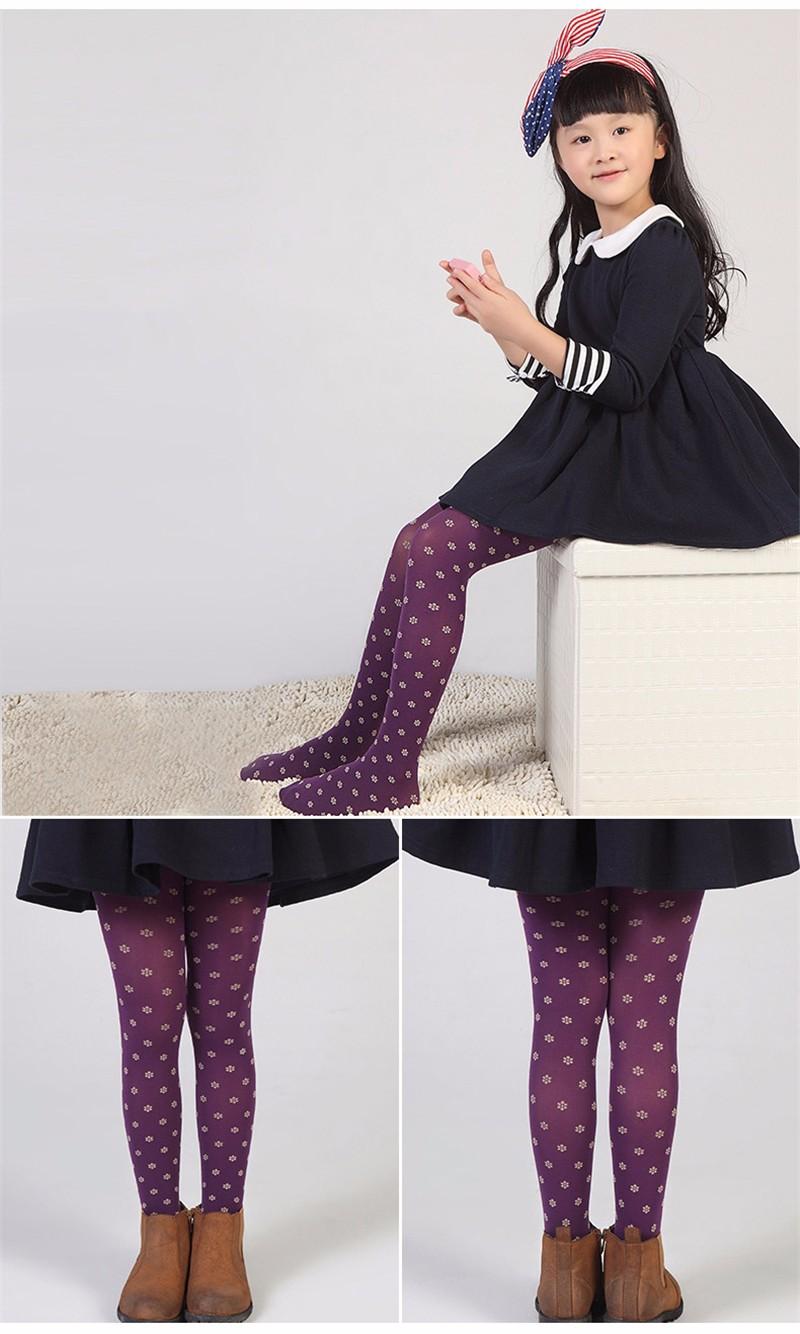 Warm Children Girls Pantyhose  (9)