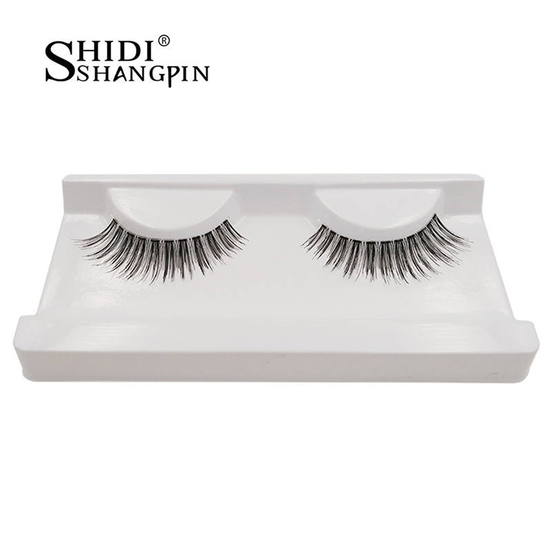 shidishangpin eyelashes 1 pair false eyelashes hand made natural long fake eye lashes extension eyelash make up tools