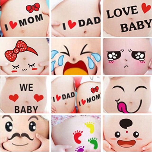 12cff7c42a236 صور جميلة الوشم لل نساء الحوامل الحمل البطن الرسم صور ملصقات العلاج الأمومة  صور الدعائم