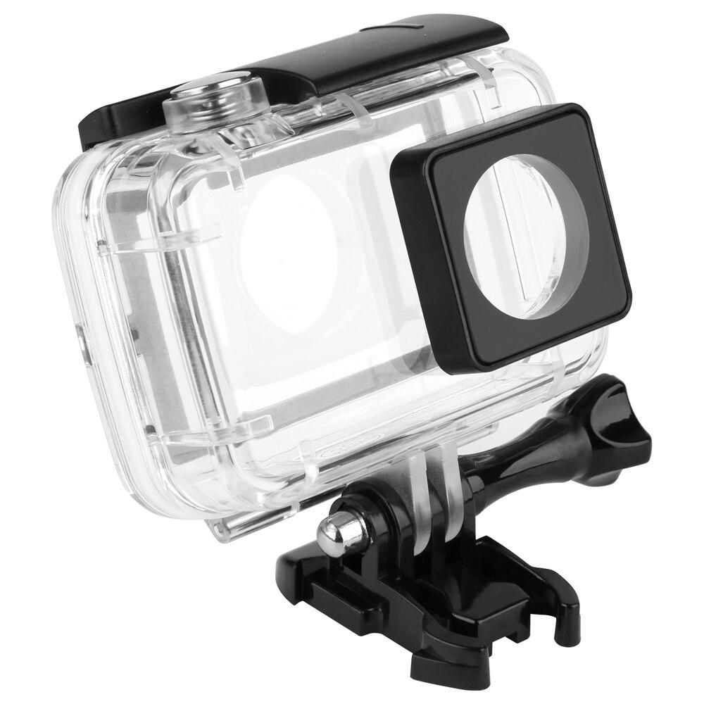 40 Mt Tauchen Berührbaren Wasserdicht Fall für Xiaomi Yi 4 Karat 4 Karat + Action Kamera Touch Backdoor Unterwassergehäuse für Xiaomi Yi Zubehör