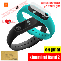 Original Xiaomi Mi Band 2 Wristband Bracelet Smart Heart Rate Fitness Tracker Monitor Bluetooth Phone Pedometer