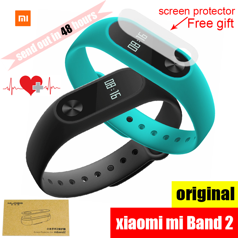 Original Xiaomi Mi Band 2 Wristband Bracelet Smart Heart ...