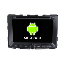 ROM 16G 1024*600 Quad Core Android 5.1.1 Fit SsangYong RODIUS 2014 2015 Car DVD Player Navigation GPS 3G Radio