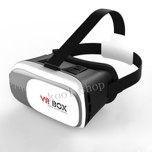 Free Shipping Google Cardboard V2.0 VR BOX 2 II 3D Virtual Reality Glasses Rift Goggles For Samsung For Apple For Sony For HTC