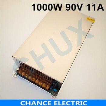 Fuente de alimentación conmutada de 1000W 11A 90V 90v tensión regulable fuente de alimentación de CA a CC para campo Industrial envío gratis