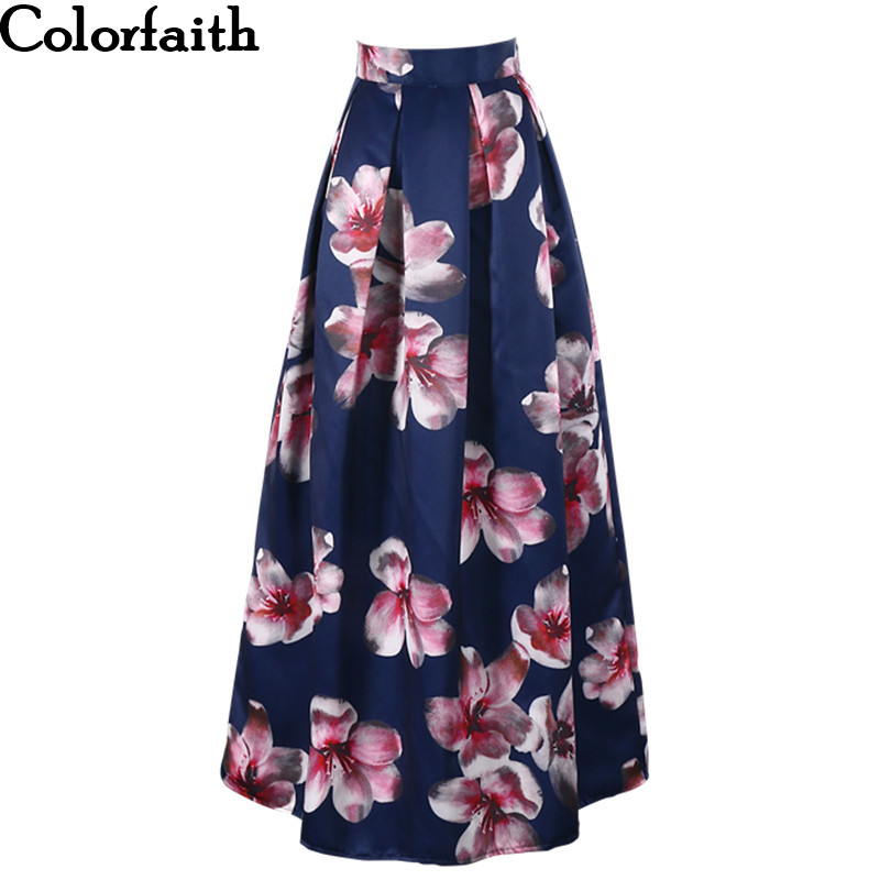floral high waisted skirt aliexpress com buy 2017 satin women 100cm high waist 1758
