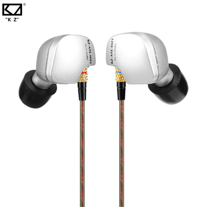 Original KZ ATE In Ear Earphone 3.5mm Sport Running HIFI Earphone Super Bass Noise Canceling Earbuds with Microphone