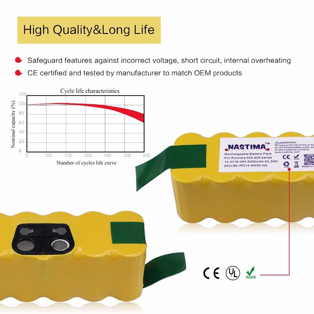 Baterias Recarregáveis series vacuum cleaner Tipo : Ni-mh