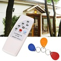 White Handheld RFID Copier 125KHz ID Door Access Card Reader Writer Duplicator Cloner with 3 Writable Cards