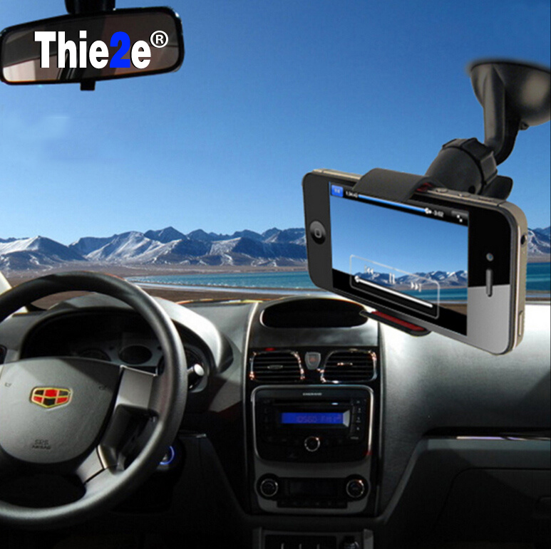 United Windshield 360 Degree Rotating Car Sucker Mount Bracket Holder Stand Universal For Phone Gps Tablet Pc Accessories