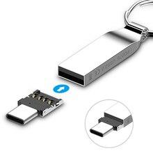USB C Stecker Typ C USB 3.1 Typ C Stecker auf USB Buchse OTG Adapter Konverter Für Android Tablet Telefon Flash stick U Disk