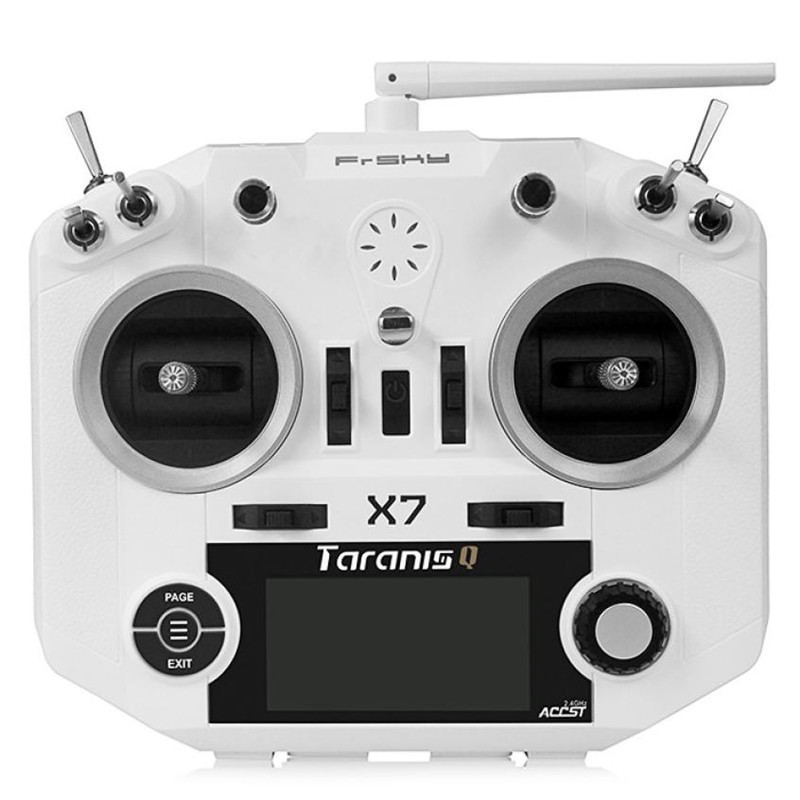 FrSky ACCST Taranis Q X7 2.4GHz 16CH Transmitter Mode 2 For Racing Drone Z811 frsky accst taranis x9d plus 16ch 2 4ghz transmitter with x8r receiver mode 2 for racing drone