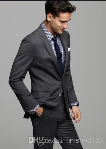 Men's Charcoal Grey Suit Promotion-Shop for Promotional Men& ...